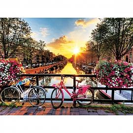 1000조각 풍경퍼즐 암스테르담의 아침