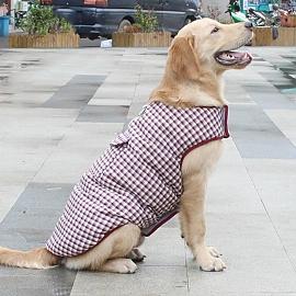 대형견 소형견 애완용 양면형 패딩 외출복 강아지옷