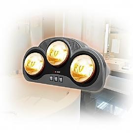 근적외선 욕실용 히터 HV-4892 3구 순간발열 난방기