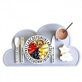 아이 식탁 매트 BPA 실리콘 식탁 구름매트