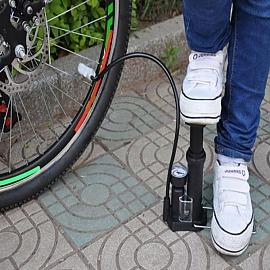 컴팩트 자전거 에어펌프