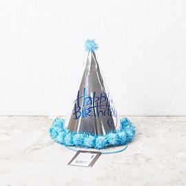 파티용품 고깔모자 꼬깔모자 고깔 실버블루 ABM