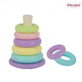쿠쿠 링쌓기 링끼우기 고리끼우기 장난감 유아 아기