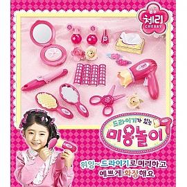 체리 드라이기 미용 놀이 미용실 유아 장난감 어린이