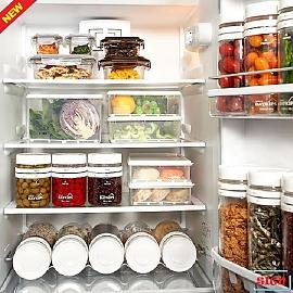플라스틱밀폐용기 냉장고 문짝정리 50P