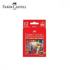 파버카스텔 일반색연필 지관 미니 12색 (115851)