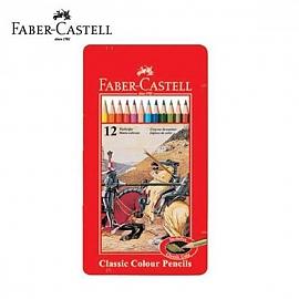 파버카스텔 일반색연필 틴 12색 (115844)