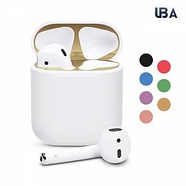 UBA 애플에어팟 철가루방지 스티커 1세대 2세대ㅣAP02A