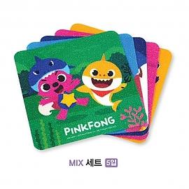 핑크퐁 미끄럼 안전 패드 (세트)