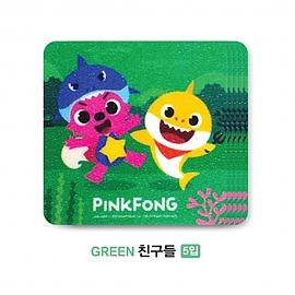 핑크퐁 미끄럼 안전 패드 (친구들)