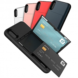 갤럭시노트10플러스 N976 5가지 색상 카드 2장 수납 범퍼 케이스