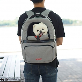 애견 이동가방 백팩 슈퍼맨 강아지 캐리어 애견용품