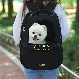 애견 이동가방 백팩 배트맨 강아지 캐리어 애견용품