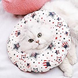 동물 도넛 쿠션 보호 넥카라 S사이즈 애완동물 용품