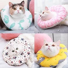 동물 도넛 쿠션 보호 넥카라 L사이즈 애완동물 용품