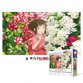 300피스 직소퍼즐 - 센과 치히로 꽃 피는 정원