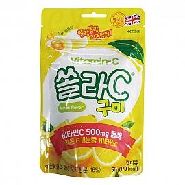 쏠라-C 구미 레몬맛 50g