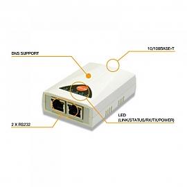 유선 시리얼 서버 RS232 2포트 CSEH20
