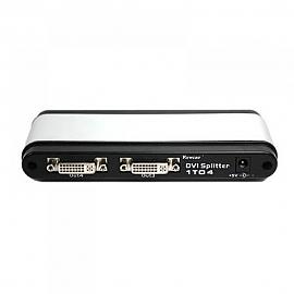 Coms DVI 분배기  4대1 제품 최대 1280 x 1024 해상도 지원