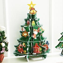 3D퍼즐트리(중) 크리스마스장식 미니트리 트리장식