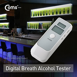 Coms 간편 음주 측정기 - 휴대용 시계  음주 측정기 (A2415)
