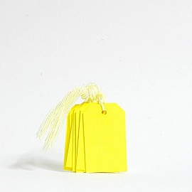 택  꼬리표  Tag MT005 옐로우