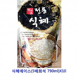 업소용 식자재 식혜베이스(5배희석 790ml)X10